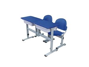 学校双人学习桌椅