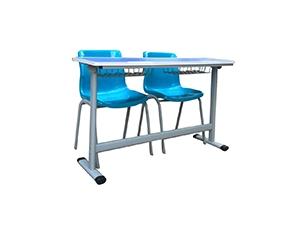 双人学习课桌椅